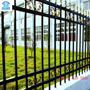 Rust-Proof/Antiseptic/High Quality Security Steel Fence with Spear pictures & photos