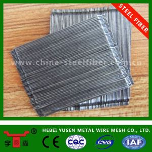 Glued Hooked End Steel Fibre with The Diameter of 0.4mm pictures & photos