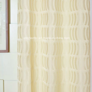 2016 New 100% Polyester Jacquard Window Curtain pictures & photos