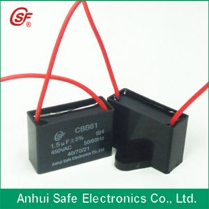 Safe Capacitor Ceiling Fan Capacitor 3 Wire pictures & photos