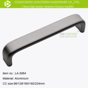 Aluminum Pull Handle by Cabinet Kitchen Chrome Polishing Finish pictures & photos