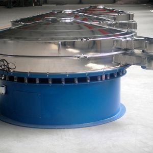 Cassava Chip Sunflower Seed Peanut Rotary Vibrating Screen pictures & photos