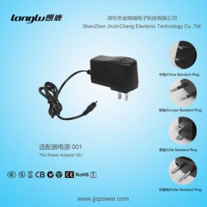 9V/1A/9W AC/DC Switching Power Supply, Wall Mount Power Adapter with UL Standard Certification