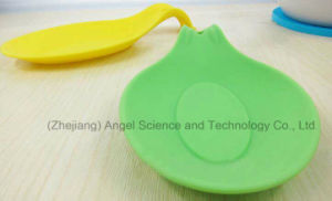 Wholesale Kitchen Utensil Silicone Spoon Holder Siliocne Spoon Rest Sk01 pictures & photos