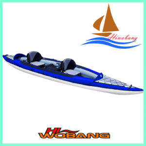 2015 New Inflatable Canoe Kayak, Whitewater Kayak pictures & photos