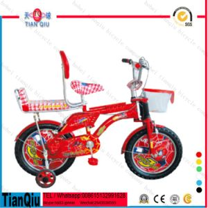 Pretty Style 16 Inch Good Quality Kids 4 Wheel Bike Alloy Suspension MTB / Dirt Bike for Kids/ Children Bicycle with Back Seat pictures & photos