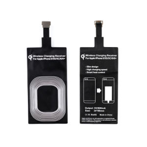 Slim Wireless Charger Receive for iPhone 5/5s/5c/6/6 Plus pictures & photos