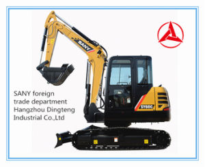 ODM/OEM Sany MIDI Excavator Sy60c-10 Professional Supplier in China pictures & photos