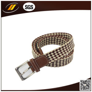 Manufacture Braided Belt Fashion Waist Belt (HJ3772)