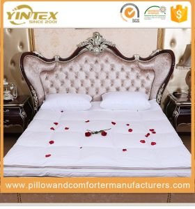 China Factory Supplier Hypo-Allergenic Duck Feather Mattress Topper pictures & photos