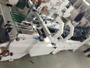 Paper Box Folder and Gluer Machine with Pre-Folder (GK-650B) pictures & photos