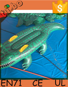 Hot Sale Inflatable PVC Crocodile Float for Inflatable Water Toy