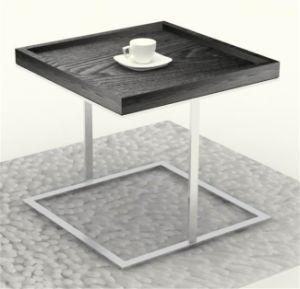 Steel Metallic Livingroom Furniture Side End Coffee Table pictures & photos