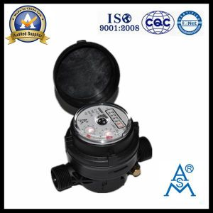 Single Jet Dry Type Vane Wheel Plastic Water Meter (LXSC-13D8s) pictures & photos