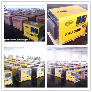 Portable Silent 5kw Diesel Generator pictures & photos