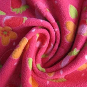 100% Polar Fleece Fabric for Garment pictures & photos