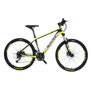 27-Speed with Shimano Derailleur Hydraulic Disc Brake Carbon Fiber Mountain Bike pictures & photos
