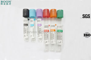 Tiger Top Red Green Gel Tube Blood Collection with Ce ISO