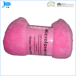 Wholesale 100%Polyester Microfiber Coral Fleece Blanket pictures & photos