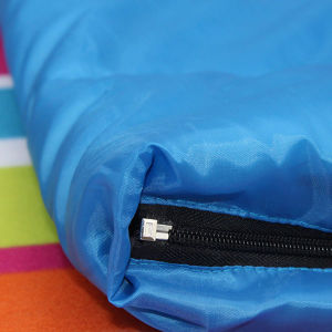Red and Blue Outdoor Sport Hollow Cotton Sleeping Bag pictures & photos