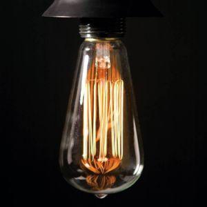 St64 Vintage Edison Light Bulb Retro Filament Edison Lamp 40W E27 pictures & photos
