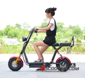 Double Deniz Harley Electric City Coco 2 Seats Scooter Es5018 pictures & photos