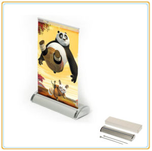 Sale New Style Desktop Roll up Banner Stand pictures & photos