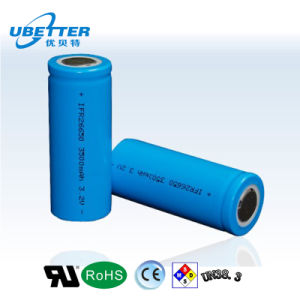 Back up Battery High Power Long Life Cycle LiFePO4 26650 Battery Cell pictures & photos