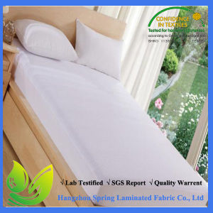 New Design Terry Cotton Queen Size Waterproof Mattress Protector pictures & photos