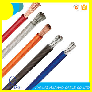 High Quality Transparent PVC Insulation Car Power Cable pictures & photos