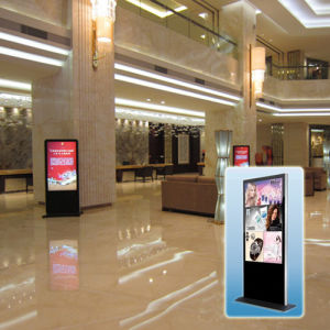 Elegant Cabinet Type Stand-Alone Advertising Machine pictures & photos