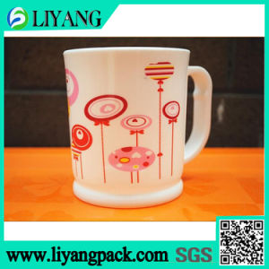 Different Color in Same Design, Heat Transfer Film for Plastic Cup pictures & photos