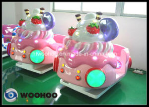Coin Operated Machine Amusement Park Ice-Cream Wobbler Swing Wag Machine pictures & photos