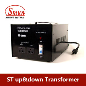 Single Phase 5000W Step up Transformer From 110V to 220V/240V pictures & photos