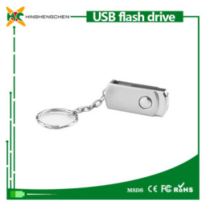 Hot Sale Rectangle U Disk Swivel USB Flash Drive pictures & photos