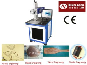 10W 30W 60W Plastic/ Cloth/ Jeans /Cable CO2 Laser Marking Machine with CE pictures & photos