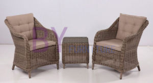 Hotsale High Quality Dining Set Synthetic Rattan Outdoor Furniture pictures & photos