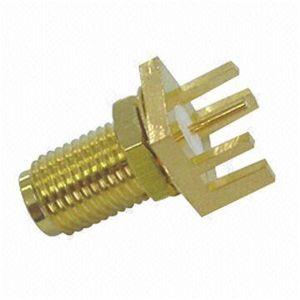 SMA Female Straight Bulkhead PCB Jack RF Connector