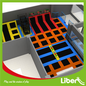 Indoor Play Center with Cageball and Dodgeball Small Trampoline Park pictures & photos