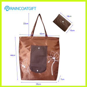 Foldable Nylon Tote Bag Rg1102-02 pictures & photos