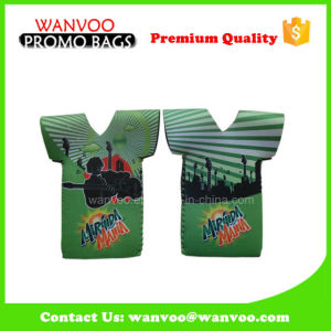 Neoprene Beer Can Bottle Cooler Bags in T Shirt Shape pictures & photos