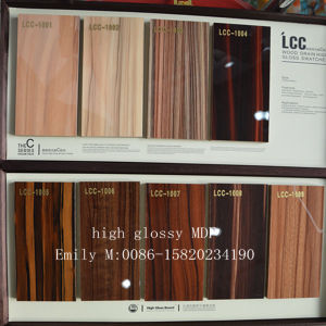 New Arrival High Glossy Wooden UV MDF (LCC-1004) pictures & photos