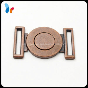 Red Copper Plated Metal Alloy Combine Buckle for Decorating Garments pictures & photos
