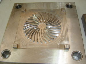 Custom Plastic Fan Parts Mold (XDD-0276)