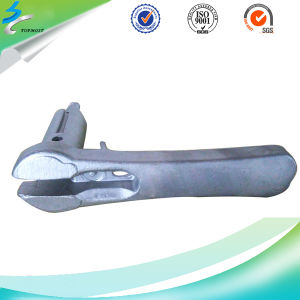 Investment Casting 304 Stainless Steel Casting Handle in Door Lock pictures & photos