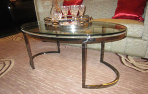 Modern Coffee Table Metal Furniture-Hotel Furniture pictures & photos