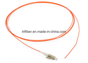 LC/Upc Mutimode / Singlemode Simplex 0.9mm Fiber Pigtail pictures & photos