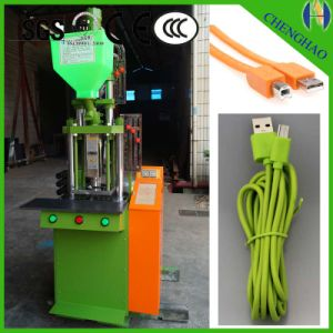 Small Vertical Plastic Injection Molding Machine for Plugs pictures & photos