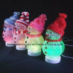 LED USB Christmas Decerative Snowman with Logo Print (5004) pictures & photos