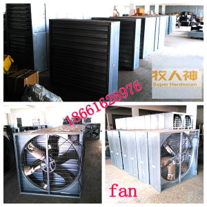 Insulting Panel Door Poultry House with Matching Steel Constrution pictures & photos